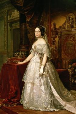 Portrait of Isabella II of Spain, 1844 by Federico De madrazo