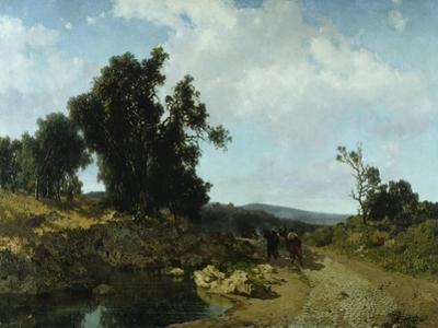 Ariccia, Roman Countryside, 1864