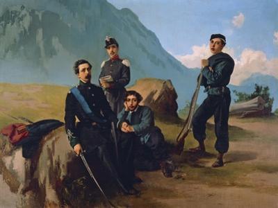 Cairoli Brothers at Camp, 1860