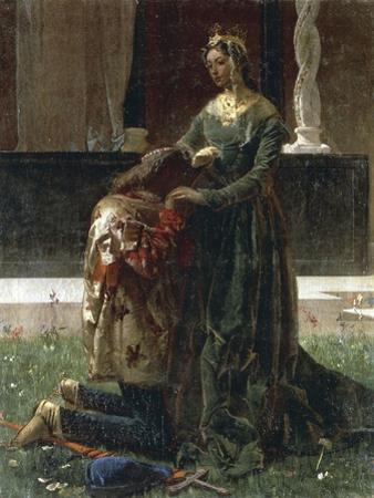 The Love of the Poet, Sordello and Cunizza, 1864