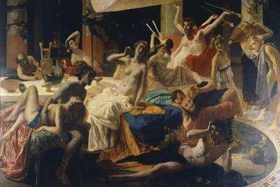 The Orgies of Messalina, 1867-1868