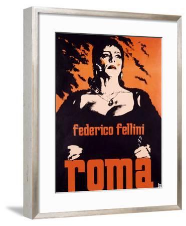 Federico Fellini Roma--Framed Giclee Print