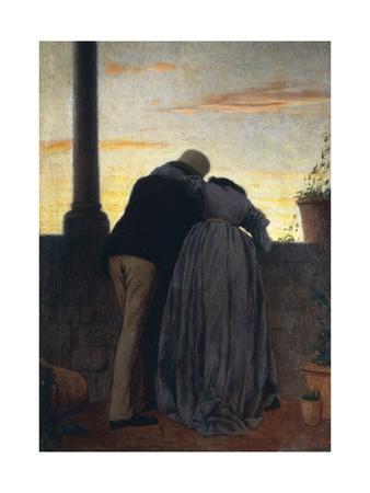 Lovers on Balcony, 1866