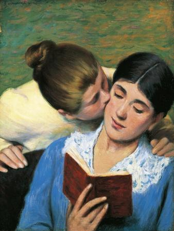 The Kiss, Interrupted Reading, 1893
