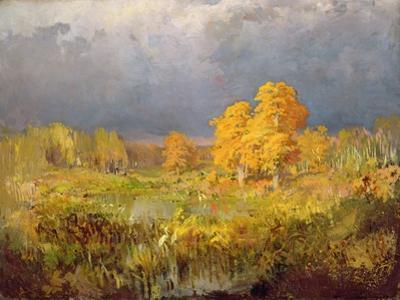 Forest Swamp in Autumn, C.1872