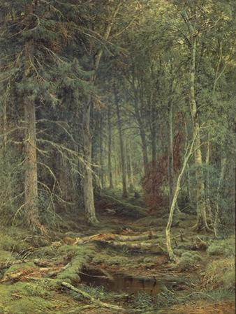 Swamp in the Forest, Autumn, 1872
