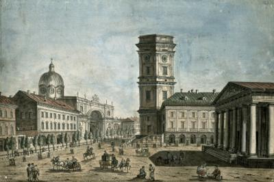 View of Nevsky Prospekt, St. Petersburg, 1810