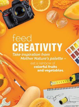 Feed Creativity Poster