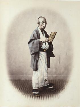 A Clerk, C.1868 by Felice Beato