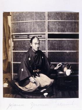 A Japanese Yaconin, C.1864-1866 by Felice Beato