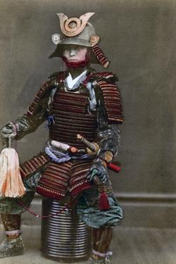 A Samurai in Armour, Japan, 1882 by Felice Beato