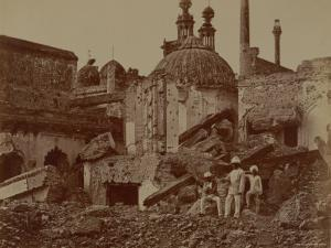 Fort Lucknow After the Indian Mutiny, 1857 by Felice Beato