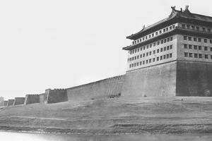 North and East Corner of the Wall of Peking, 1860 by Felice Beato