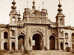 The Great Gate of the Kaiser Bagh, Lucknow, 1858 by Felice Beato