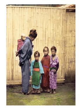 Woman with Children by Felice Beato