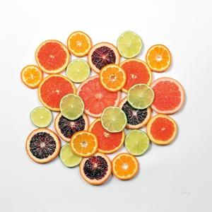 Sunny Citrus II Crop by Felicity Bradley