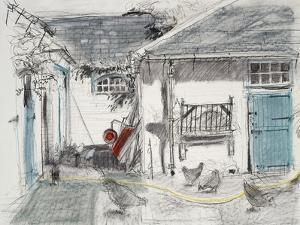 Farmyard Hens by Felicity House
