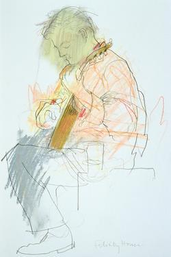 Guitar Player by Felicity House