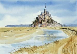 Mont Saint-Michel by Felicity House