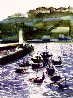St. Ives Harbour, High Tide by Felicity House