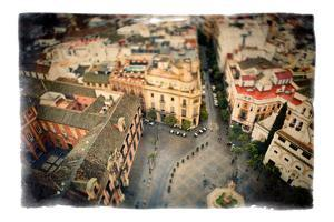 Gliding over Seville VIII by Felipe Rodriguez