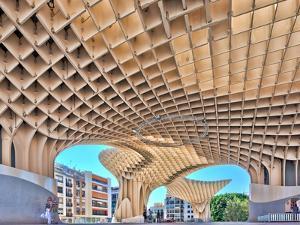 Metropol Parasol Building by Felipe Rodriguez