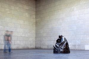 Mother with Her Dead Son, Statue by Käthe Kollwitz, Neue Wache, Berlin, Germany by Felipe Rodriguez