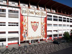 Sanchez Pizjuan Stadium, Belonging to Sevilla Fc, Sevilla, Spain by Felipe Rodriguez