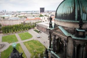 Urban City Scene in Berlin, Germany by Felipe Rodriguez