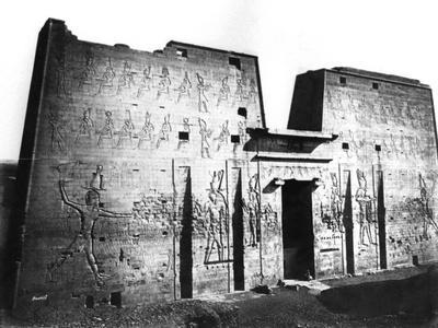 Edfu, Nubia, Egypt, 1878