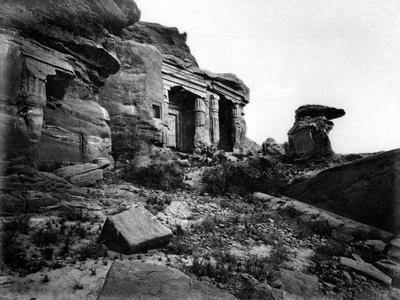 Gebel Silsileh, Egypt, 1878