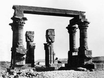 Kiosk of Qertassi, Nubia, Egypt, 1878