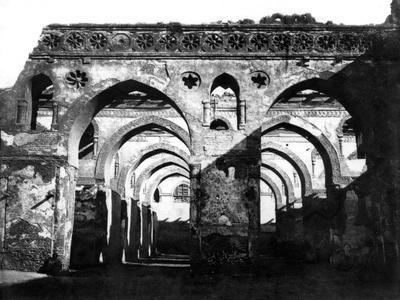 Mosque Ruin, Cairo, Egypt, 1878