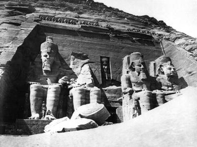 The Temple of Abu Simbel, Nubia, Egypt, 1878