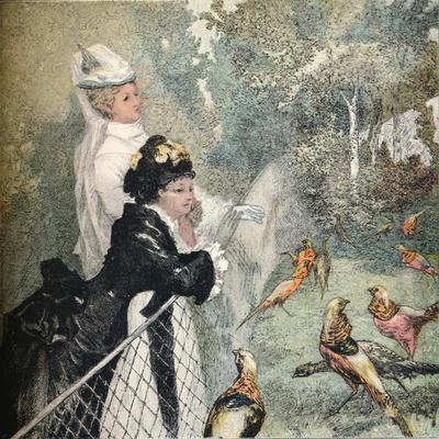 'Le Jardin D'Acclimatation', c1895