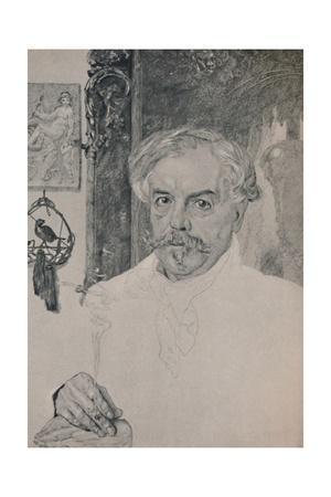 'Portrait of Edmund De Goncourt', 1882, (1946)