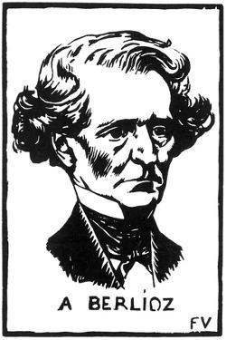 Hector Berlioz (1803-186), 1891 by Felix Edouard Vallotton