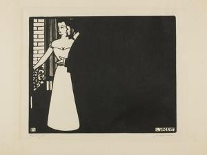 Money, Plate Five from 'Intimacies', 1898 by Felix Edouard Vallotton