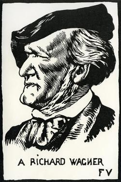 Richard Wagner by Felix Edouard Vallotton