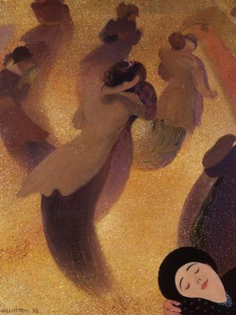 The Waltz (La Vals) by Felix Edouard Vallotton