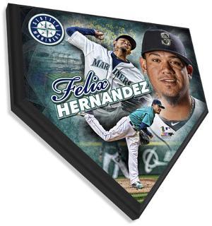 Felix Hernandez Home Plate Plaque