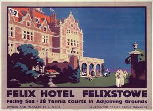 Felix Hotel, LNER, c.1923