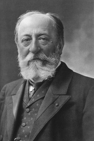 Camille Saint-Saens (1835-192), French Composer, Organist, Conductor, and Pianist