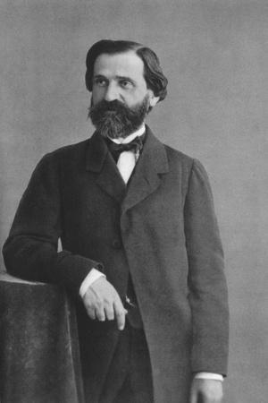 Giuseppe Verdi (1813-190), Italian Romantic Composer, Mainly of Opera