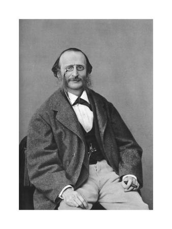 Jacques Offenbach (1819-188), German-Born French Composer, Cellist and Impresario of the Romantic