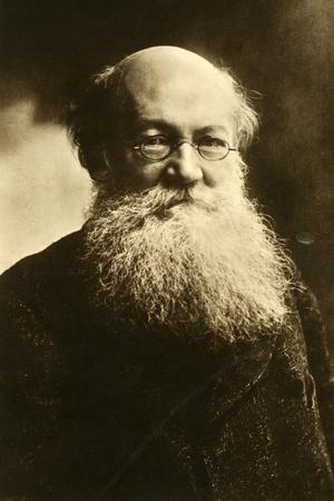 Pyotr Alexeyevich Kropotkin, Russian Anarchist, C1900