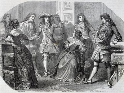 Arrest of Nicolas Fouquet Superintendent of Finance by Felix Philippoteaux