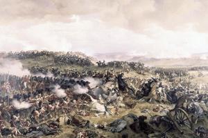 Battle of Waterloo by Felix Philippoteaux