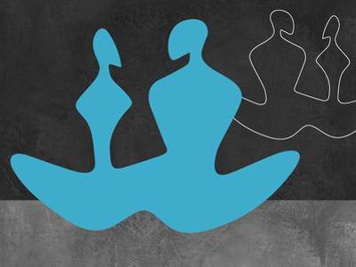 Blue Couple 2 by Felix Podgurski
