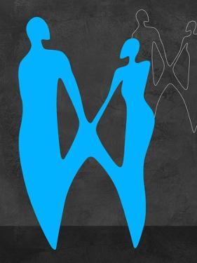 Blue Couple by Felix Podgurski